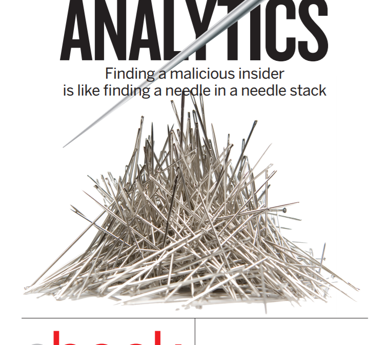 Inside-out analytics: Solving the enigmatic insider threat
